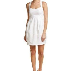 Nanette Lepore sheath dress in ivory